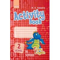 Англійська мова. Enjoy English. Activity Book. Level 2 (Дракон) (Укр). Куварзіна М.В.