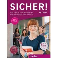 Sicher! B2/2 Aktuell, Kurs- und Arbeitsbuch mit CD-ROM zum Arbeitsbuch, Lektion 7-12 ISBN: 9783196212075