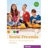 Beste Freunde A1/1, Arbeitsbuch mit CD-ROM ISBN: 9783193610515