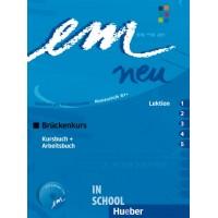 Em neu 2008 Brückenkurs, Kursbuch + Arbeitsbuch, Lektion 1–5 mit Arbeitsbuch-Audio-CD ISBN: 9783195416962