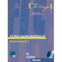 Fit fürs Goethe-Zertifikat A1, Lehrbuch mit integrierter Audio-CD ISBN: 9783190018727