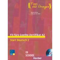 Fit fürs Goethe-Zertifikat A2, Lehrbuch mit integrierter Audio-CD ISBN: 9783190018734