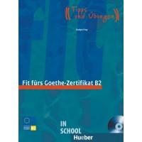 Fit fürs Goethe-Zertifikat B2, Lehrbuch mit integrierter Audio-CD ISBN: 9783190018741