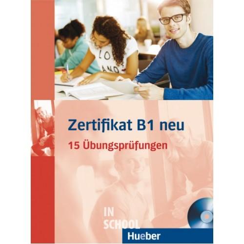 Zertifikat B1 neu, Übungsbuch + MP3-CD ISBN: 9783190418688