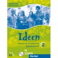Ideen 2, Arbeitsbuch mit 2 Audio-CDs zum Arbeitsbuch ISBN: 9783190118243