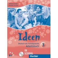 Ideen 3, Arbeitsbuch mit 2 Audio-CDs zum Arbeitsbuch ISBN: 9783190118250