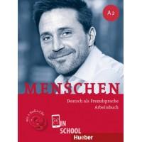 Menschen A2, Arbeitsbuch mit 2 Audio-CDs ISBN: 9783191119027