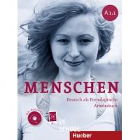 Menschen A1/1, Arbeitsbuch mit 2 Audio-CDs ISBN: 9783193119018