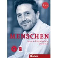 Menschen A2/1, Arbeitsbuch mit 2 Audio-CDs ISBN: 9783193119025