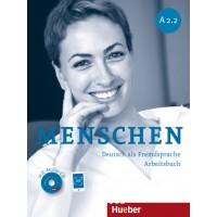 Menschen A2/2, Arbeitsbuch mit 2 Audio-CDs ISBN: 9783195119023