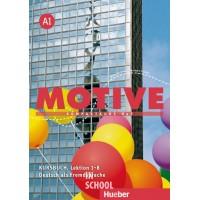 Motive A1, Kursbuch, Lektion 1–8 ISBN: 9783190018802