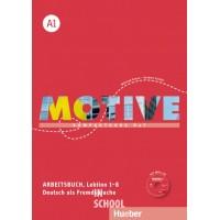 Motive A1, Arbeitsbuch, Lektion 1–8 mit MP3-Audio-CD ISBN: 9783190318803