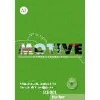Motive A2, Arbeitsbuch, Lektion 9–18 mit MP3-Audio-CD ISBN: 9783190318810