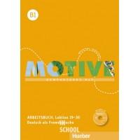 Motive B1, Arbeitsbuch, Lektion 19–30 mit MP3-Audio-CD ISBN: 9783190318827