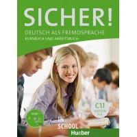 Sicher! C1/1, Kurs- und Arbeitsbuch mit CD-ROM zum Arbeitsbuch, Lektion 1–6 ISBN: 9783195012089