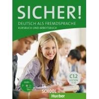 Sicher! C1/2, Kurs- und Arbeitsbuch mit CD-ROM zum Arbeitsbuch,  Lektion 7-12 ISBN: 9783197012087