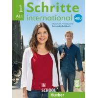 Schritte international Neu 1, Kursbuch + Arbeitsbuch + CD zum Arbeitsbuch ISBN: 9783193010827