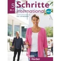 Schritte international Neu 5, Kursbuch + Arbeitsbuch + CD zum Arbeitsbuch ISBN: 9783193010865