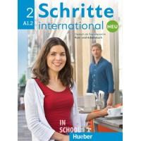 Schritte international Neu 2, Kursbuch + Arbeitsbuch + CD zum Arbeitsbuch ISBN: 9783196010824