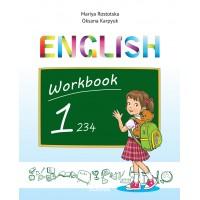 """Англійська мова 1 клас. Робочий зошит до підручника """"Workbook 1"""" (поглиблене вивчення). Карпюк О."""