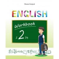 """Англійська мова 2 клас. Робочий зошит """"Workbook 2"""" (поглиблене вивчення). Карпюк О."""