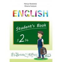 """Англійська мова 2 клас. Підручник """"English 2"""" (поглиблене вивчення). Карпюк О."""