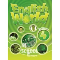 English World 4 Dictionary ISBN: 9780230032170