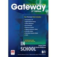 Gateway 2nd Edition B1 Teacher's Book Premium Pack ISBN: 9780230473133