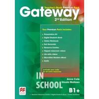 Gateway 2nd Edition B1+ Teacher's Book Premium Pack ISBN: 9780230473164