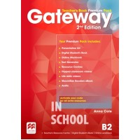 Gateway 2nd Edition B2 Teacher's Book Premium Pack ISBN: 9780230473195