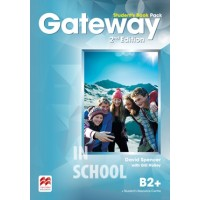 Gateway 2nd Edition B2+ Student's Book Pack ISBN: 9780230473218