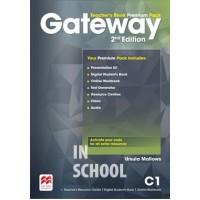 Gateway 2nd edition C1 Teacher's Book Premium Pack ISBN: 9781786323118