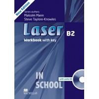 Laser B2 Third Edition Workbook with Key and CD Pack ISBN: 9780230433830