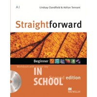 Straightforward Second Edition Beginner Workbook + CD with Key ISBN: 9780230422971