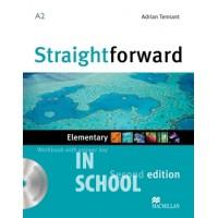 Straightforward Second Edition Elementary Workbook + CD with Key ISBN: 9780230423060