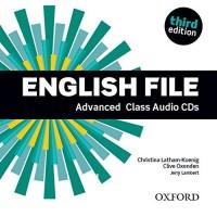 English File 3rd Edition Advanced Class CDs ISBN: 9780194502528