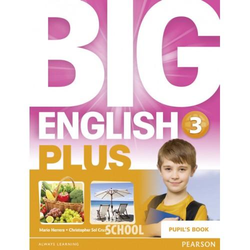 Big English Plus 3 SB ISBN: 9781447989189