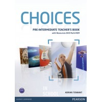 Choices Pre-intermediate Teacher's Pack (Book with Test Master CD-ROM) ISBN: 9781408289792