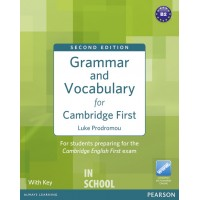 Grammar and Vocabulary for Cambridge First (2nd Edition) Book (with Key) ISBN: 9781408290590