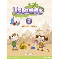 Islands Level 2 Activity Book plus pin code ISBN: 9781408290071