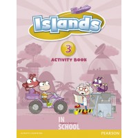 Islands Level 3 Activity Book plus pin code ISBN: 9781408290255