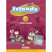 Islands Level 3 Pupil's Book plus pin code ISBN: 9781408290347