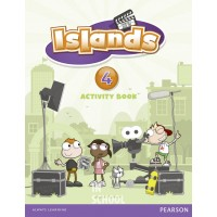Islands Level 4 Activity Book plus pin code ISBN: 9781408290422