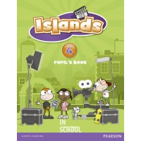 Islands Level 4 Pupil's Book plus pin code ISBN: 9781408290521