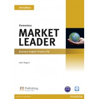 Market Leader 3rd Edition Elementary Practice File (with Audio CD) ISBN : 9781408237069