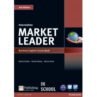 Market Leader 3rd Edition Intermediate Coursebook (with DVD-ROM incl. Class Audio) ISBN : 9781408236956