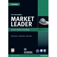 Market Leader 3rd Edition Pre-Intermediate Coursebook (with DVD-ROM incl. Class Audio) ISBN : 9781408237076