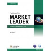 Market Leader 3rd Edition Pre-Intermediate Practice File (with Audio CD) ISBN : 9781408237083