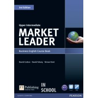 Market Leader 3rd Edition Upper Intermediate Coursebook (with DVD-ROM incl. Class Audio) ISBN : 9781408237090