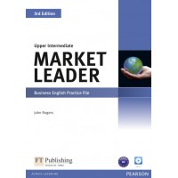 Market Leader 3rd Edition Upper Intermediate Practice File (with Audio CD) ISBN : 9781408237106